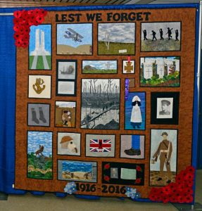 Beaumont Hamel 100 Quilt by Pigeon Inlet Quilters Guild