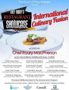 Chef Roary's Restaurant Showcase