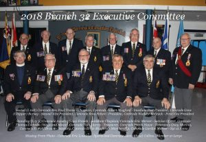 Royal Canadian Legion Executive Committee-2018